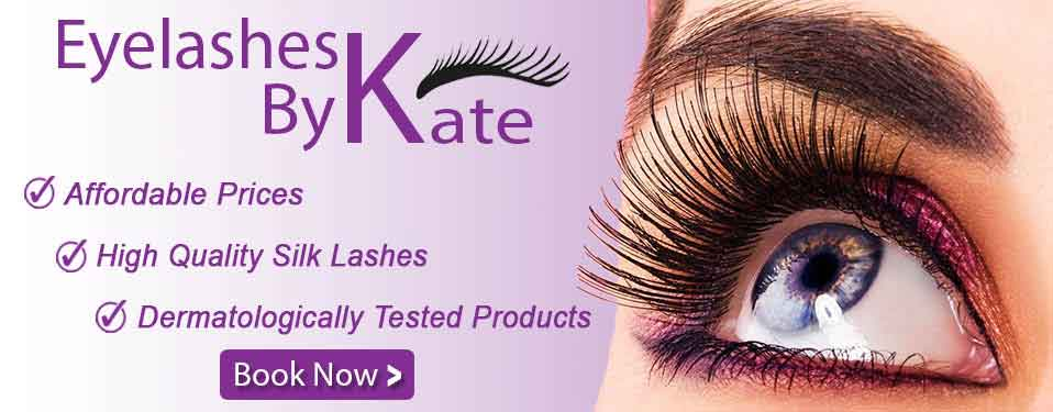 Eyelashes By Kate - Affordable prices, High Quality Silk Lashes, Dermatologically Tested Products, Book Now