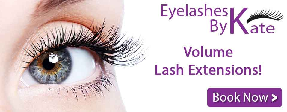 Volume Lash Extensions - Book Now